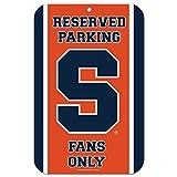 NCAA Syracuse University 35402010 Plastic Sign, 11'' x 17''