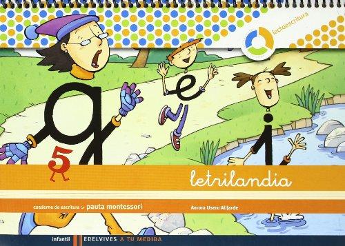 Letrilandia Lectoescritura Cuaderno 5 De Escritura