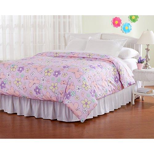 Regency Comforter - Ashley Cooper Regency Butterflies and Flowers Comforter in Queen Size