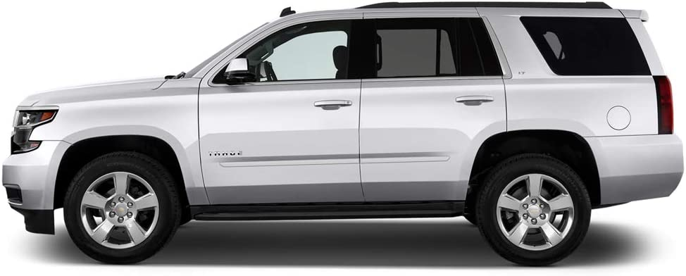 Summit White WA8624 Dawn Enterprises FE2-SUB//YXL15 Finished End Body Side Molding Compatible with Chevrolet Suburban GMC Yukon GAZ