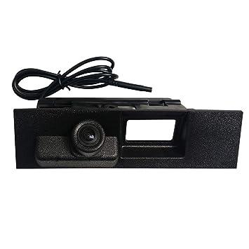Misayaee coche manillar cámara de visión trasera guías de asistencia de estacionamiento para Maletero Mango Marcha Atrás para Ford Mondeo 2014 2015 2016 ...