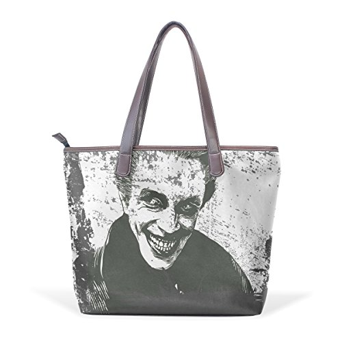 Shoulder Handle Bag Muticolour Coosun Bags Bag Pu Art M 40x29x9 Vampire Cm Women Halloween Leather Bags Large zzgwvX