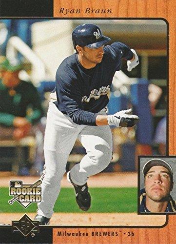 (2007 Upper Deck SP Rookie Edition - Ryan Braun Milwaukee Brewers Baseball Rookie Card #249)