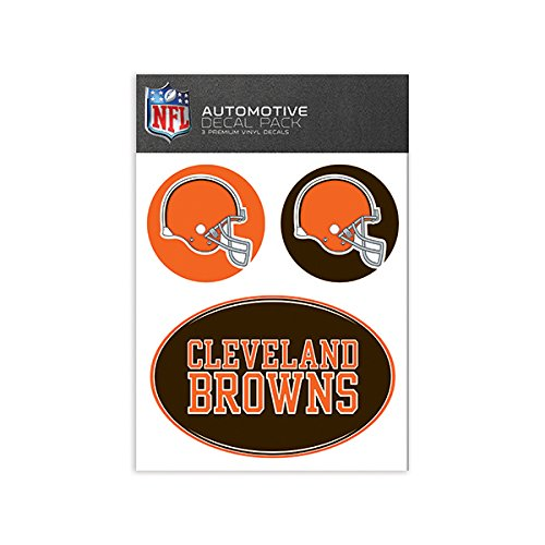 Cleveland Browns Wall - NFL Cleveland Browns Medium Decal Pack