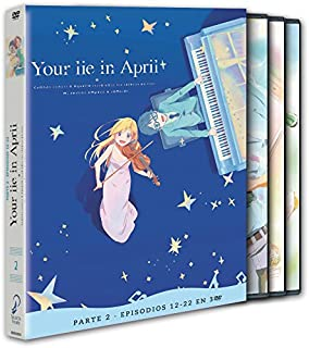 Your Lie In April. Parte 2. Ep 12 - 22 [DVD]