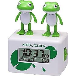 Rhythm Clock Alarm Clock Kero Clock 2 Singing Frog Japn