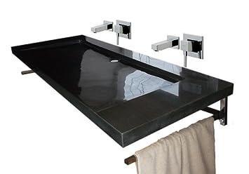 Waschbecken Aus Naturstein Granit Model Bern 100 India Black