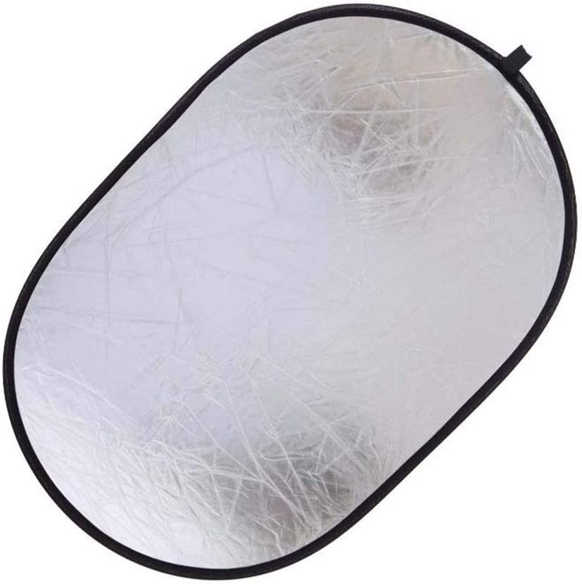 Photography Reflector 90x120cm Collapsible Reflector 5-in-1 Portable Multi-Camera Illumination Reflector Diffuser Kit with Carrying Case for Photographic Video Recording Lighting Reflectors