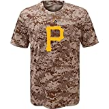 Pittsburgh Pirates Youth Camouflage T-shirt