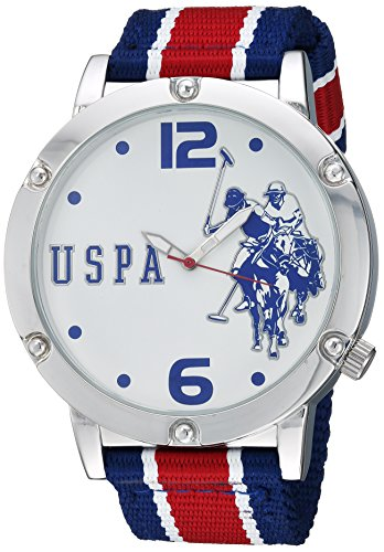 U.S. Polo Assn. Men's Quartz Metal and Nylon Casual WatchMulti Color (Model: USC57003)