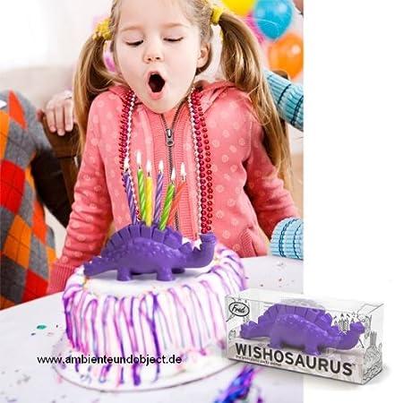 Wish o de un dinosaurio de Set de velas de cumpleaños ...