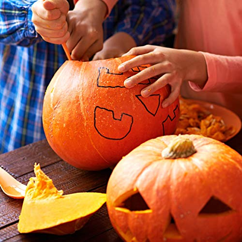 Pumpkin Carving Kit - 12 Piece Heavy Duty Stainless Steel pumpkin carving tools , Easily Carve Sculpt Halloween Jack-O-Lanterns, Carving Tools Make Great Spooky Décor by Halloween Art (Image #4)