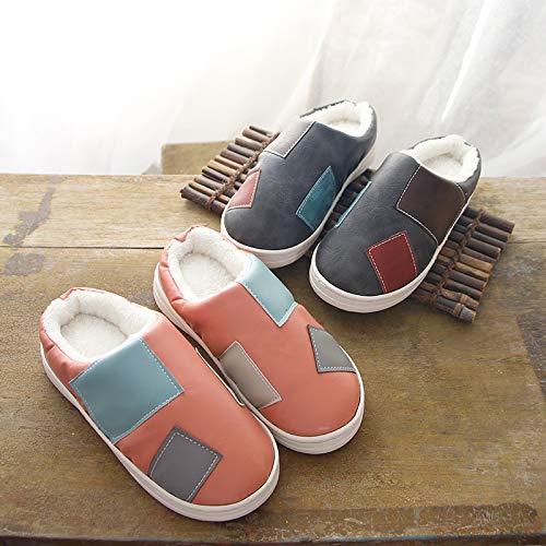 Pantofole caldo di e scarpe per in YMFIE donna cotone casa inverno uomo E cotone antiscivolo ftdawg