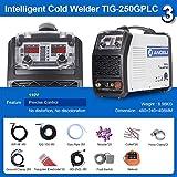 ANDELI 110V TIG Welder with Cold Welding Au Ag Spot Welding Multifunctional Welding Machine TIG-250GPLC