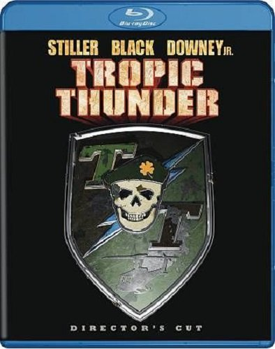 TROPIC THUNDER Director's Cut BLU-RAY Disc Movie (Ben Stiller, Jack Black and Robert Downey Jr.)