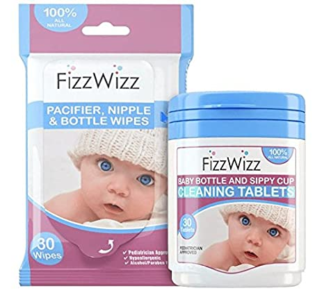 Amazon.com: Fizzwizz - Pastillas de limpieza para bebés y ...