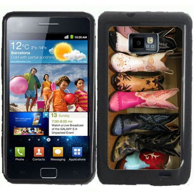 S2 Cowboy Boots Samsung Galaxy S2 / SII i9100 Case Cover