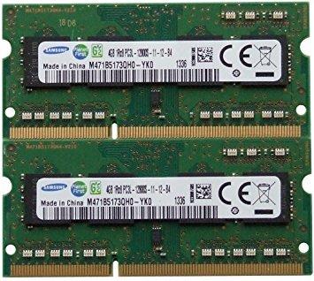 (Samsung ram memory 8GB kit (2 x 4GB) DDR3 PC3-12800,1600MHz for 2012 Apple Macbook Pro's, iMac's and 2011 / 2012 Mac mini's)