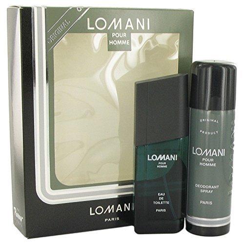 - Lomani Cologne By LOMANI Gift Set - 3.4 oz Eau De Toilette Spray + 6.7 oz Deodorant Spray FOR MEN