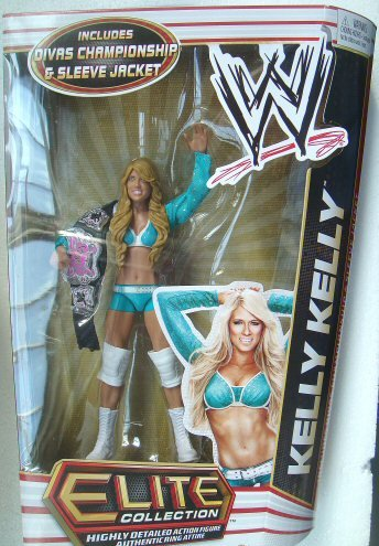 WWE Series 17 Elite Collector Kelly Kelly Figure]()
