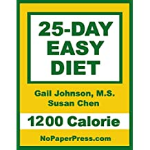 25-Day Easy Diet - 1200 Calorie