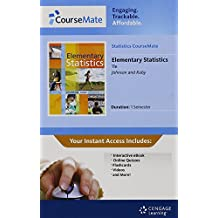 Statistics CourseMate with eBook Printed Access Card for Johnson/Kuby's Elementary Statistics, 11th