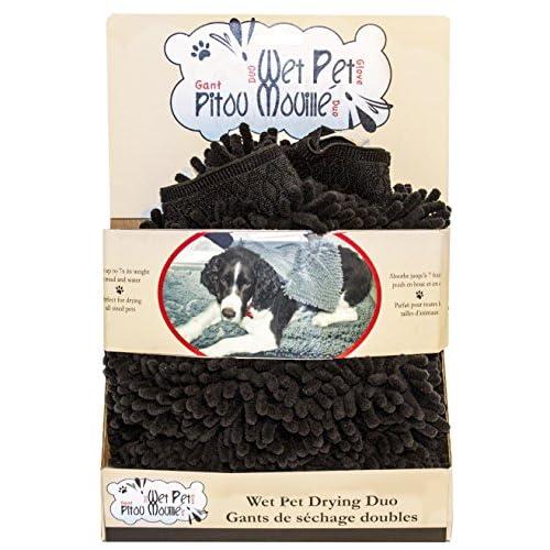 Danazoo Wet Pet Mat, Black chic