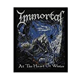 Album Art Immortal At The Heart Of Winter Patch Metal Band Sew-On Applique