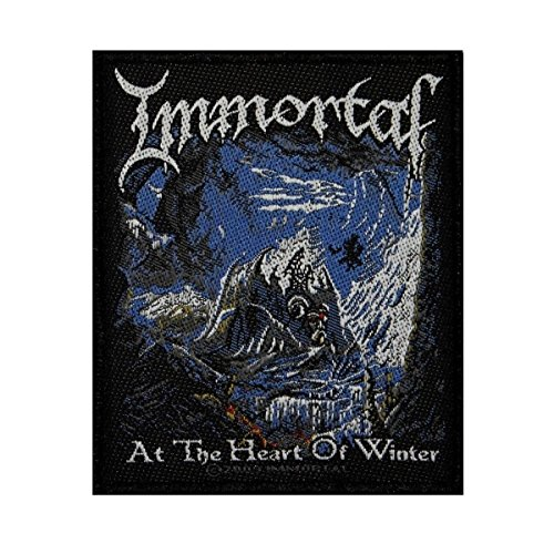 Album Art Immortal At The Heart Of Winter Patch Metal Band Sew-On Applique by Mia_you