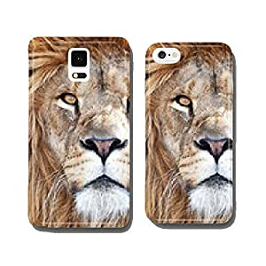 Lion (Panthera leo) cell phone cover case iPhone5