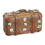 Koffer Reif für die Insel 5,8×2,8×3,9cm Floristik Reisegutschein