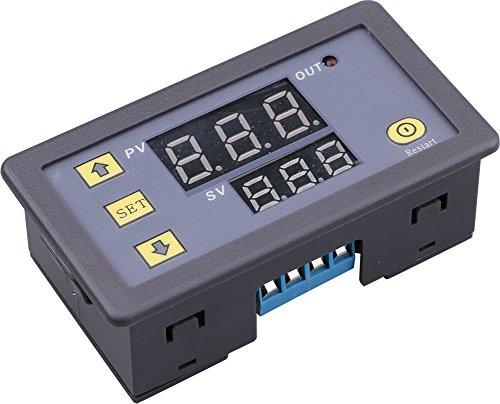 DC 12V Digital Timer Relay Board Automotive 1500W Relay Module