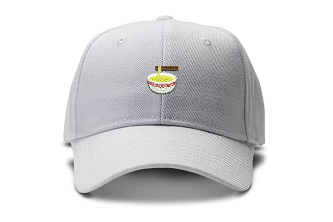 Image Unavailable. Image not available for. Color  Ramen Noodle Bowl Emoji  Low Profile Dad Hat ... e9ef1b29f1b8