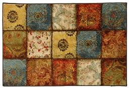 Mohawk Home Free Flow Artifact Panel Printed Rug,  2\'6x3\'10,  Multi