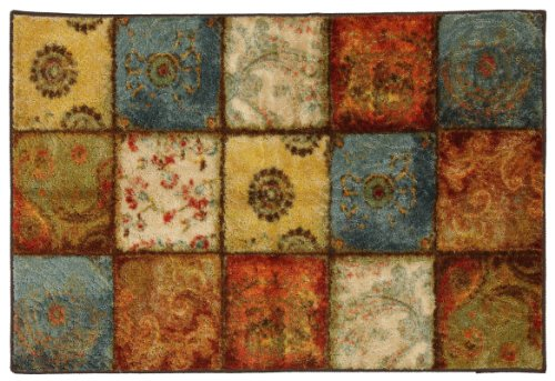 Mohawk Home Free Flow Artifact Panel Printed Rug, 2'6x3'10, Multi