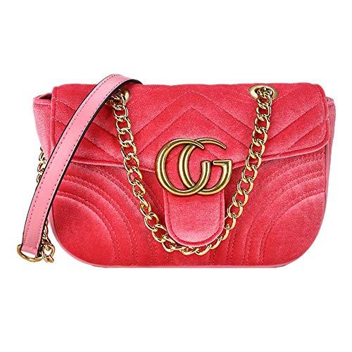 Single Rombal nero rosso Shoulder Bag Texture Shoulder anguria Borse Moda RxYxwB
