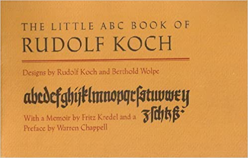 The Little ABC Book of Rudolf Koch