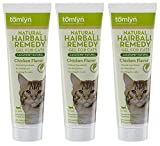 Tomlyn Laxatone Natural Hairball Remedy, Chicken Flavor, 4.25-ounce (Pack of 3)