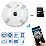 Product review for Mbangde 360° Full View HD 960P Panoramic IP Camera, Wireless Wifi Security Camera Super Wide Angle Support Motion Detection Keep Your Pet & Home Safe, with 16GB TF Card