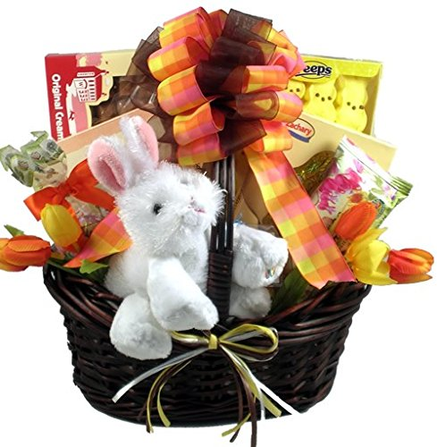 Funny Bunny Deluxe -Easter Basket of Premium Chocolates and