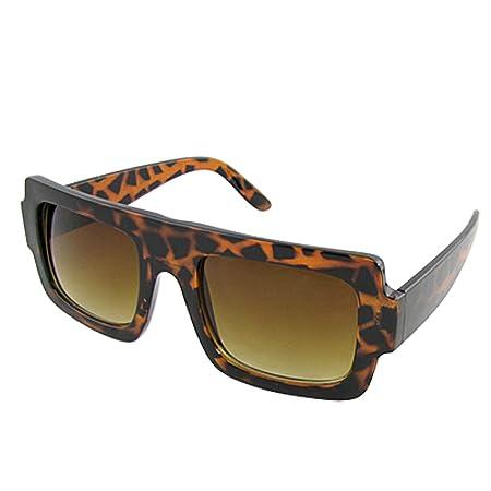 d8d062b0cab Leopard Pattern Plastic Full Rimmed Rectangular Lens Sunglasses for Lady   Amazon.co.uk  DIY   Tools