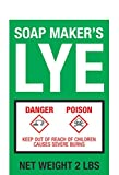 Soap Maker's LYE - 2lb