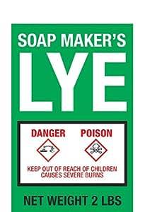 Soap Maker's LYE - 2lb