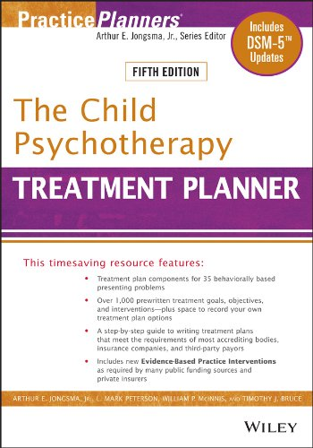 - The Child Psychotherapy Treatment Planner: Includes DSM-5 Updates