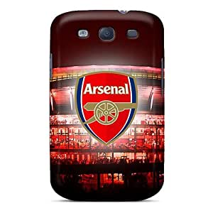 Protector Hard Phone Case For Samsung Galaxy S3 With Unique Design Nice The Team England Arsenal Skin PhilHolmes