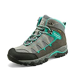 👑Clorts waterproof hiking boots lets you explore the trails rain or shine with its waterproof protection and comfortable fit. Extensive occasion suited, ideal for hiking, backpacking, trekking, camping outdoor sports, urban leisure, walking, ...