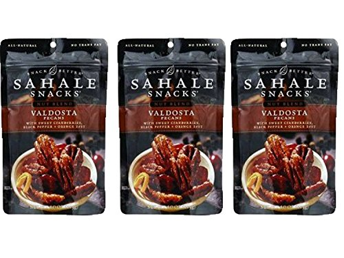 Orange Sticks Glazed (Sahale Snacks All Natural Glazed Nut Blend (4oz x 3 Packs) (Valdosta Pecans with Sweet Cranberries Black Pepper and Orange Zest))
