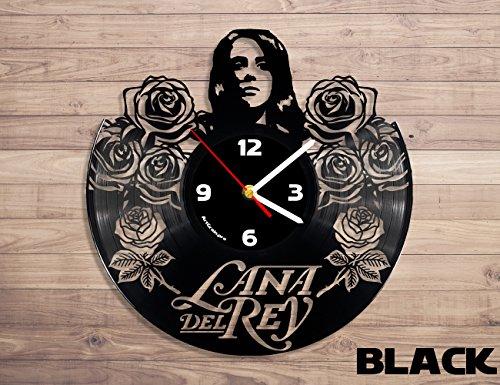 Lana Del Rey vinyl record wall clock