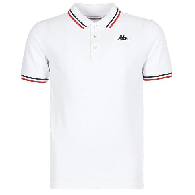 KAPPA ESMANO Tops y Camisetas Hombres Blanco - XL - Polos Manga ...
