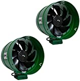 10 inch inline duct booster fan - Hydrofarm ACFB10 Active Air 10